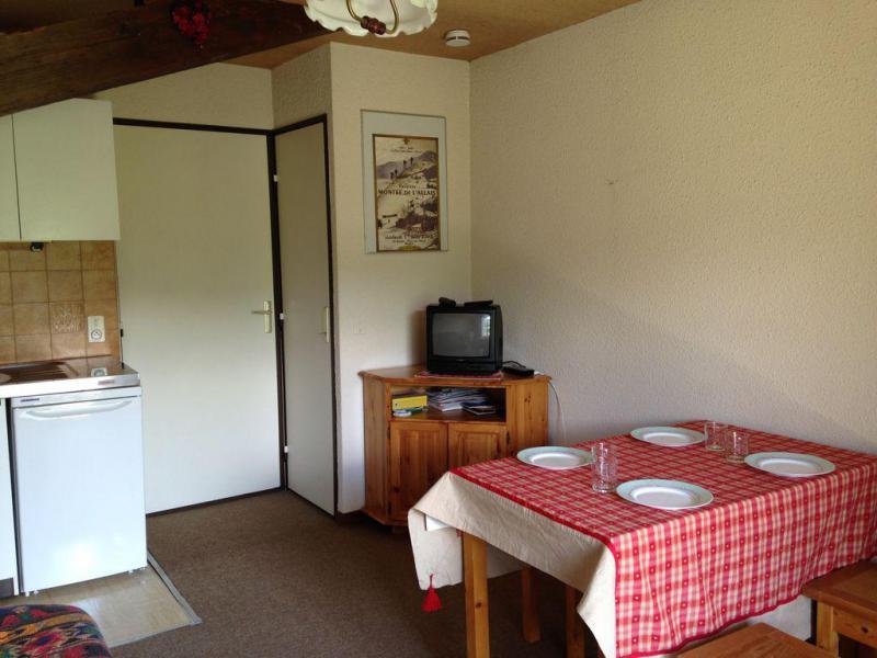 Vakantie in de bergen Studio 4 personen (650) - Résidence le Sapin A - Combloux