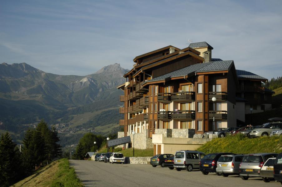 Location au ski Résidence le Sappey - Valmorel - Extérieur été