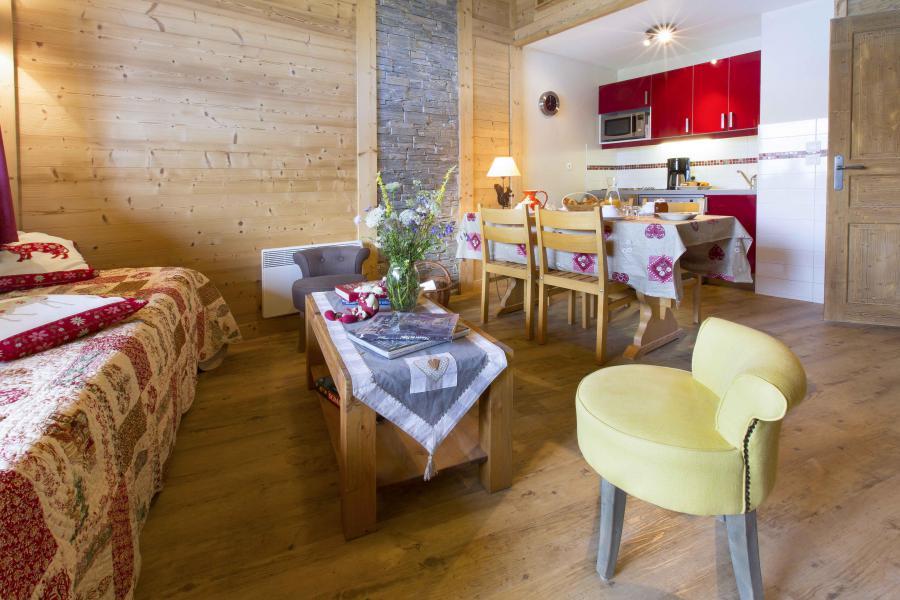 Vacances en montagne Appartement duplex 4 pièces 8 personnes - Résidence le Sappey - Valmorel - Canapé