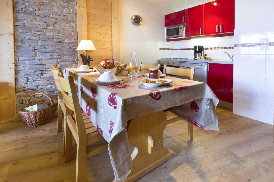 Vacances en montagne Appartement duplex 4 pièces 8 personnes - Résidence le Sappey - Valmorel - Kitchenette