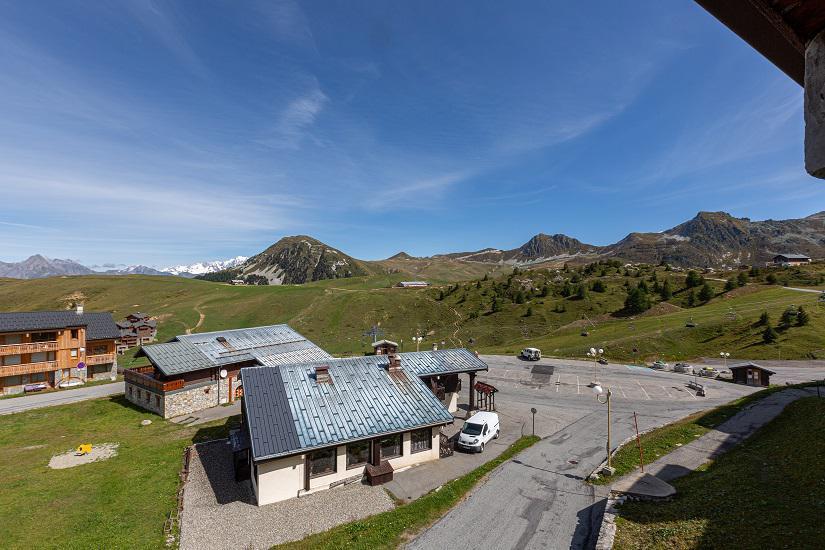 Wakacje w górach Studio 4 osoby (019) - Résidence le Sapporo - La Plagne - Na zewnątrz latem