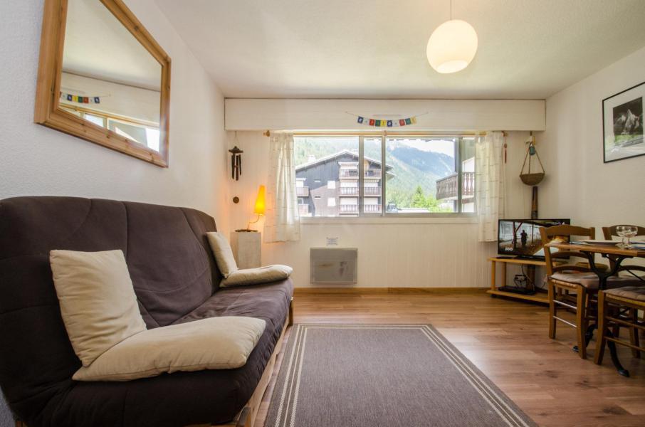 Vacances en montagne Studio 2-4 personnes - Résidence le Savoy - Chamonix - Séjour