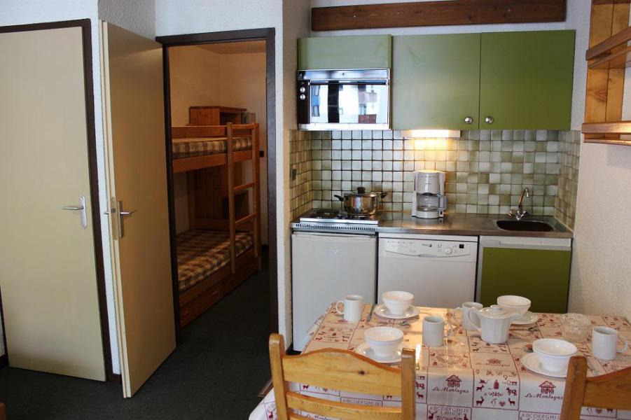 Vakantie in de bergen Studio 4 personen (406) - Résidence le Schuss - Val Thorens - Verblijf