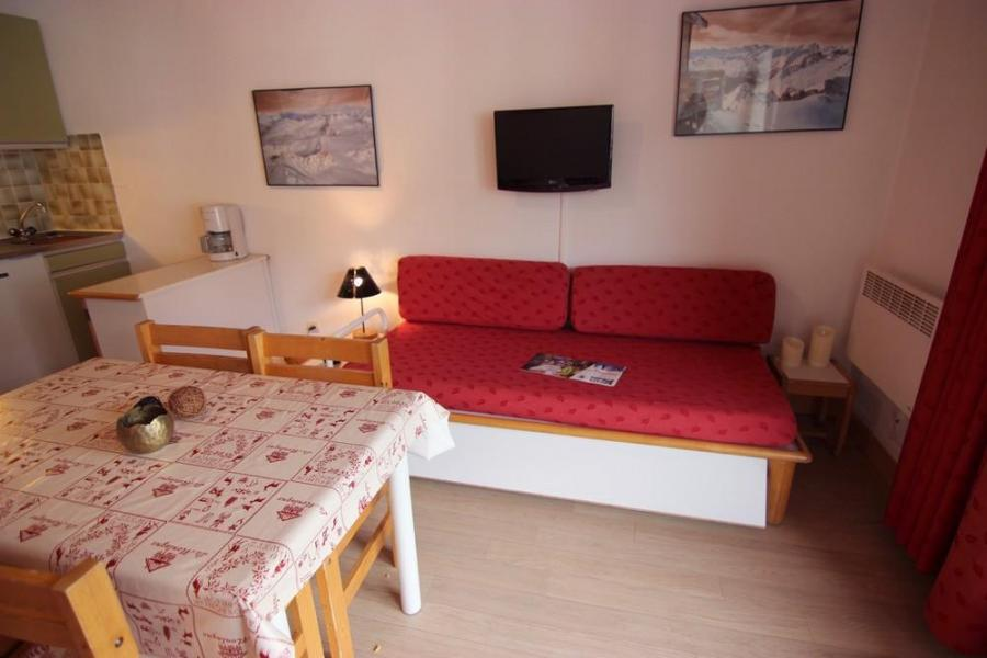 Vacances en montagne Studio 4 personnes (209) - Résidence le Schuss - Val Thorens - Table
