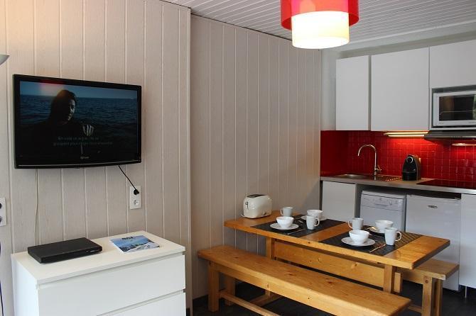 Vakantie in de bergen Studio 5 personen (102) - Résidence le Schuss - Val Thorens - Keukenblok