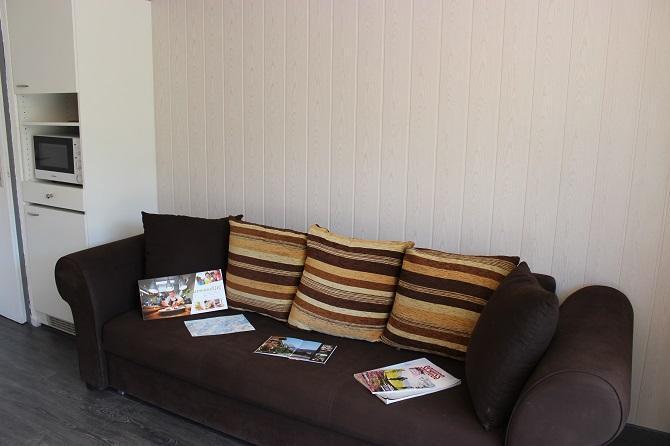 Vakantie in de bergen Studio 5 personen (102) - Résidence le Schuss - Val Thorens - Sofa