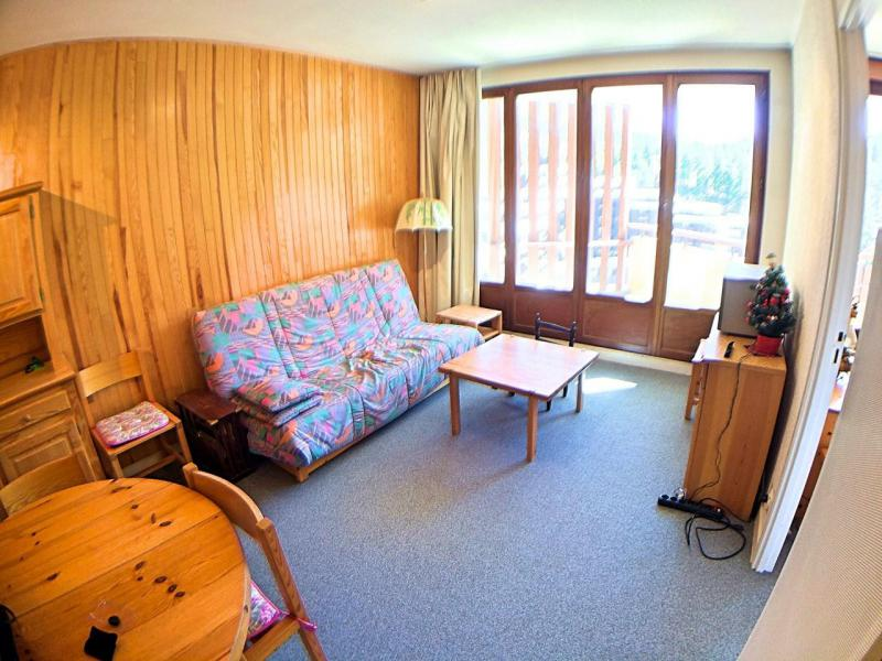 Wakacje w górach Apartament 2 pokojowy z alkową 4 osoby (038) - Résidence le Seignon - Vars - Pokój gościnny