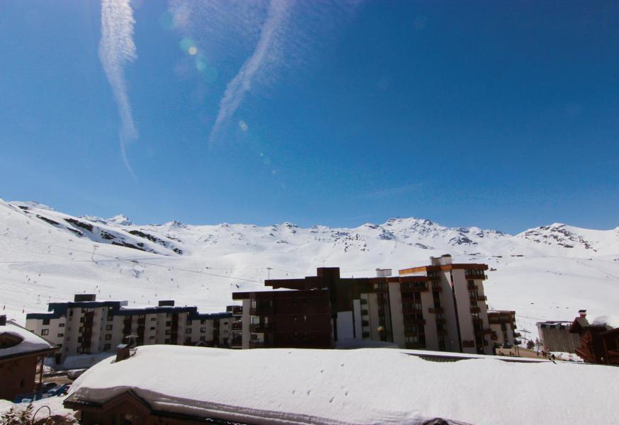 Vacances en montagne Studio cabine 4 personnes (J4) - Résidence le Sérac - Val Thorens