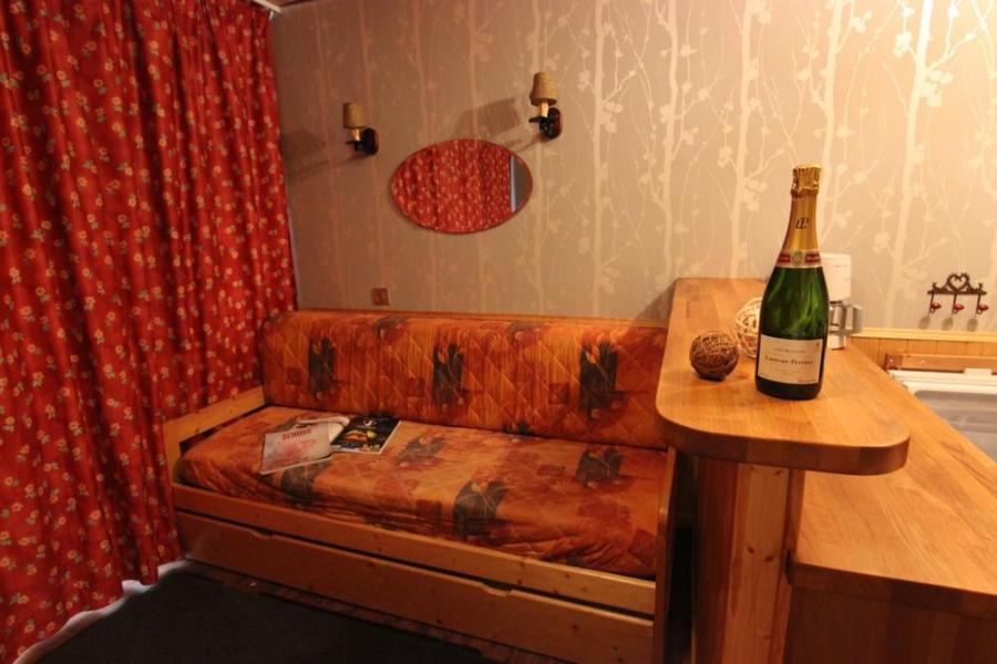 Vakantie in de bergen Studio 3 personen (P2) - Résidence le Sérac - Val Thorens - Woonkamer
