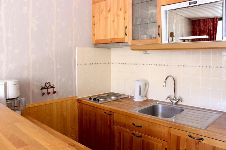 Vacances en montagne Studio 3 personnes (P2) - Résidence le Sérac - Val Thorens - Cuisine