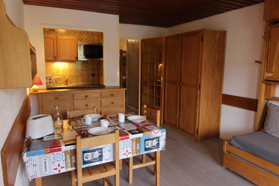 Vacances en montagne Studio 4 personnes (U7) - Résidence le Sérac - Val Thorens - Séjour