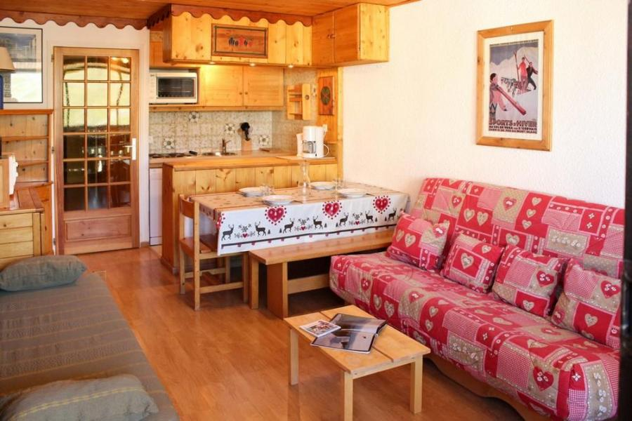 Vakantie in de bergen Studio cabine 4 personen (J4) - Résidence le Sérac - Val Thorens - Keukenblok