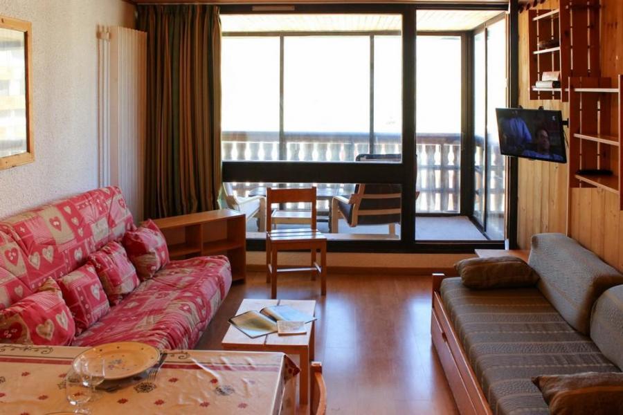 Vacances en montagne Studio cabine 4 personnes (J4) - Résidence le Sérac - Val Thorens - Canapé