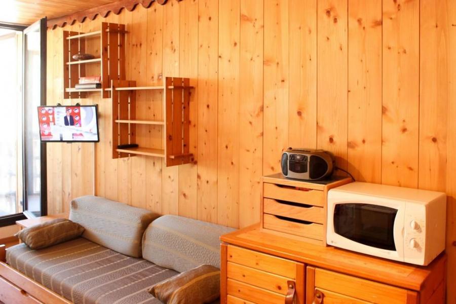Vacances en montagne Studio cabine 4 personnes (J4) - Résidence le Sérac - Val Thorens - Lavabo