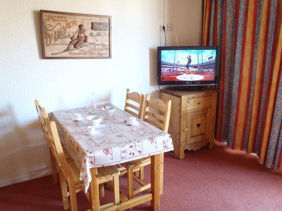 Vacances en montagne Studio cabine 4 personnes (T3) - Résidence le Sérac - Val Thorens - Logement
