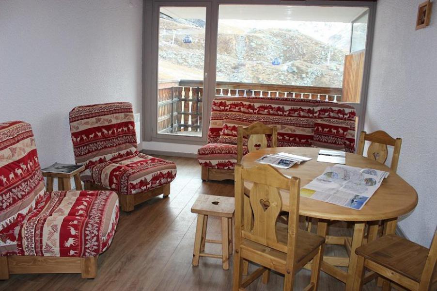 Vacances en montagne Studio cabine 4 personnes (V6) - Résidence le Sérac - Val Thorens - Logement