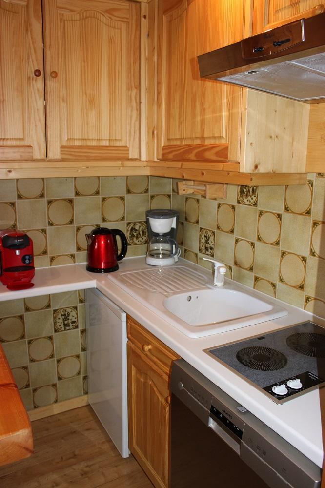 Vacances en montagne Studio cabine 5 personnes (G2) - Résidence le Sérac - Val Thorens - Coin repas