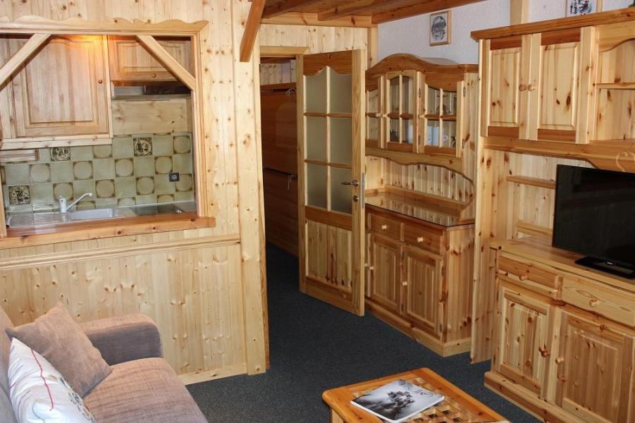 Vacances en montagne Studio cabine 5 personnes (G2) - Résidence le Sérac - Val Thorens - Kitchenette