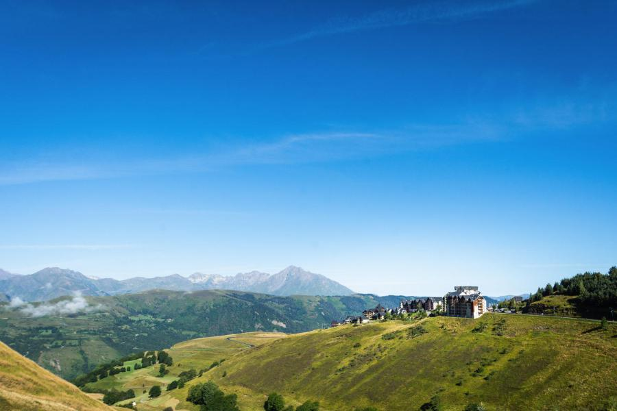 Location au ski Résidence le Sérias - Peyragudes - Extérieur été