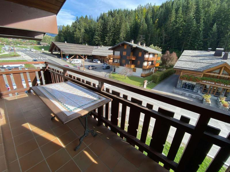 Holiday in mountain resort Studio cabin mezzanine 5 people (D2) - Résidence le Sherpa - Le Grand Bornand