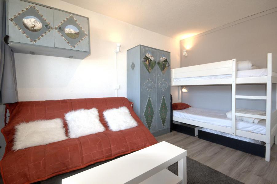 Wakacje w górach Studio 3 osoby (15) - Résidence le Sierra Nevada - La Plagne - Kanapą z wysuwanym łóżkiem