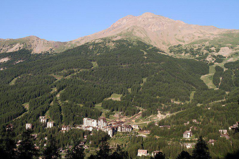 Location au ski Résidence le Silhourais - Les Orres - Extérieur été