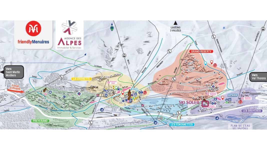 Vacances en montagne Résidence le Ski Soleil - Les Menuires