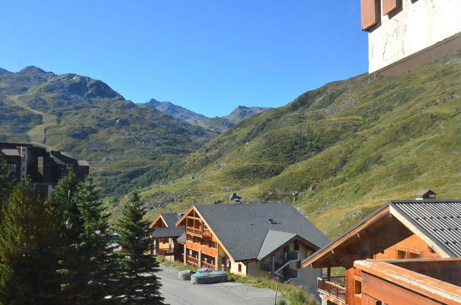 Vacances en montagne Studio coin montagne 4 personnes (2508) - Résidence le Ski Soleil - Les Menuires - Extérieur été