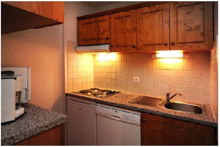 Vacances en montagne Appartement 2 pièces cabine 6 personnes (211) - Résidence le Sorbier - Les Menuires - Kitchenette