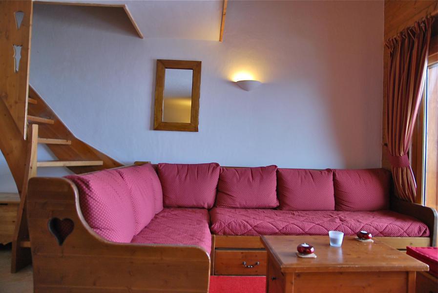 Vacaciones en montaña Apartamento dúplex 4 piezas 8 personas (B16) - Résidence le St Bernard - Les Arcs