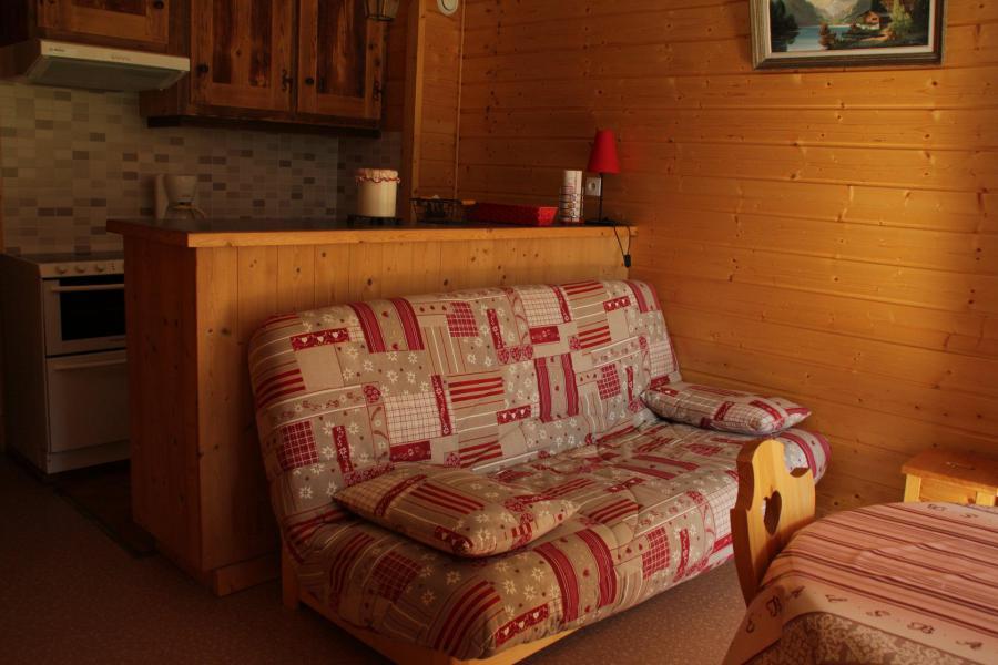 Vacances en montagne Studio 4 personnes - Résidence le Sylvia - Châtel - Banquette-lit tiroir
