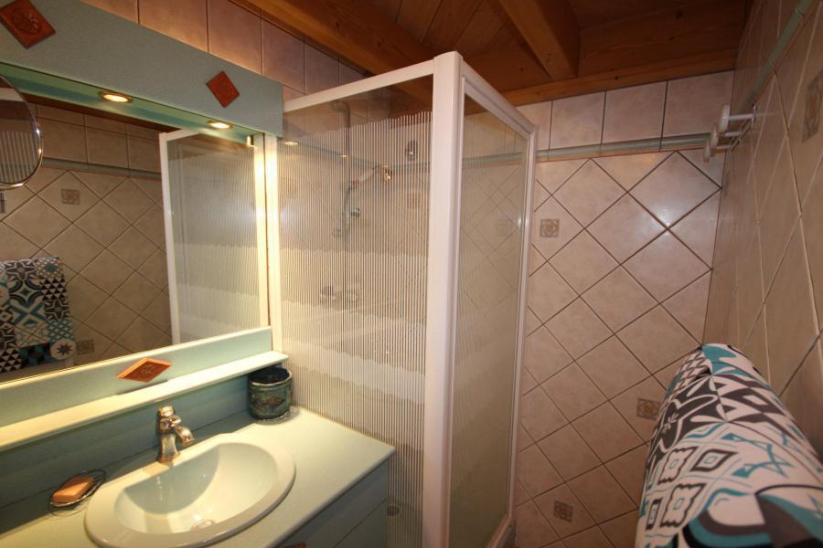 Vacaciones en montaña Apartamento 2 piezas para 5 personas (025) - Résidence le Tavaillon - Les Saisies - Ducha