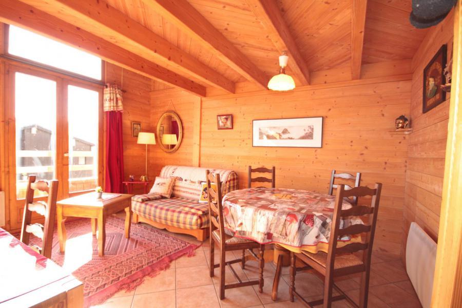 Vacaciones en montaña Apartamento 2 piezas para 5 personas (025) - Résidence le Tavaillon - Les Saisies - Estancia