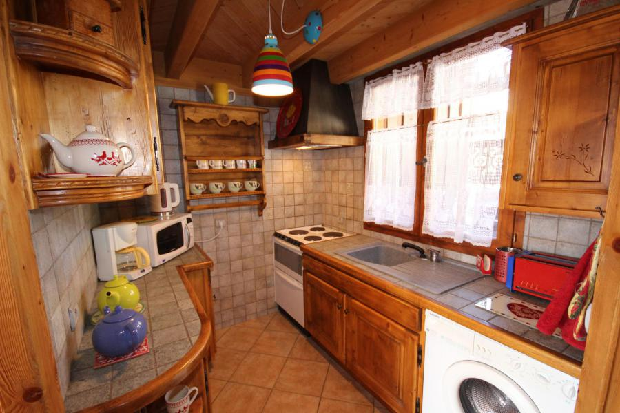 Vacaciones en montaña Apartamento 2 piezas para 5 personas (025) - Résidence le Tavaillon - Les Saisies - Kitchenette