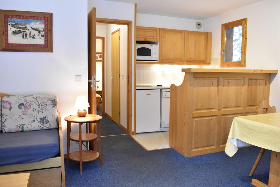 Vacances en montagne Appartement 2 pièces 4 personnes (3) - Résidence le Télémark - Méribel - Séjour