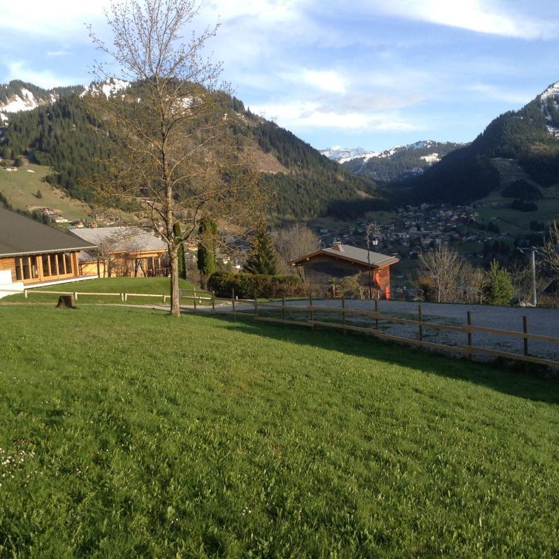 Vakantie in de bergen Studio bergnis 4 personen (27B) - Résidence le Terroit - Châtel - Buiten zomer