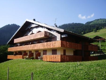Vacaciones en montaña Apartamento 2 piezas mezzanine para 5 personas (17A) - Résidence le Terroit - Châtel - Verano