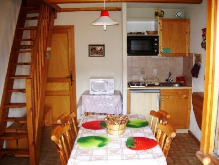 Vacaciones en montaña Apartamento 2 piezas mezzanine para 5 personas (17A) - Résidence le Terroit - Châtel - Kitchenette