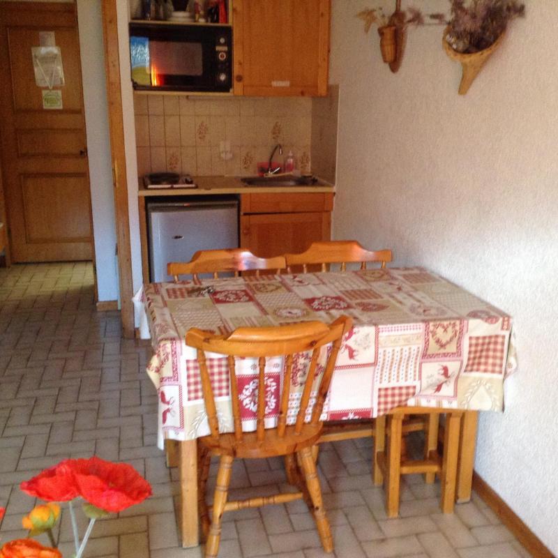 Vakantie in de bergen Studio bergnis 4 personen (27B) - Résidence le Terroit - Châtel - Verblijf