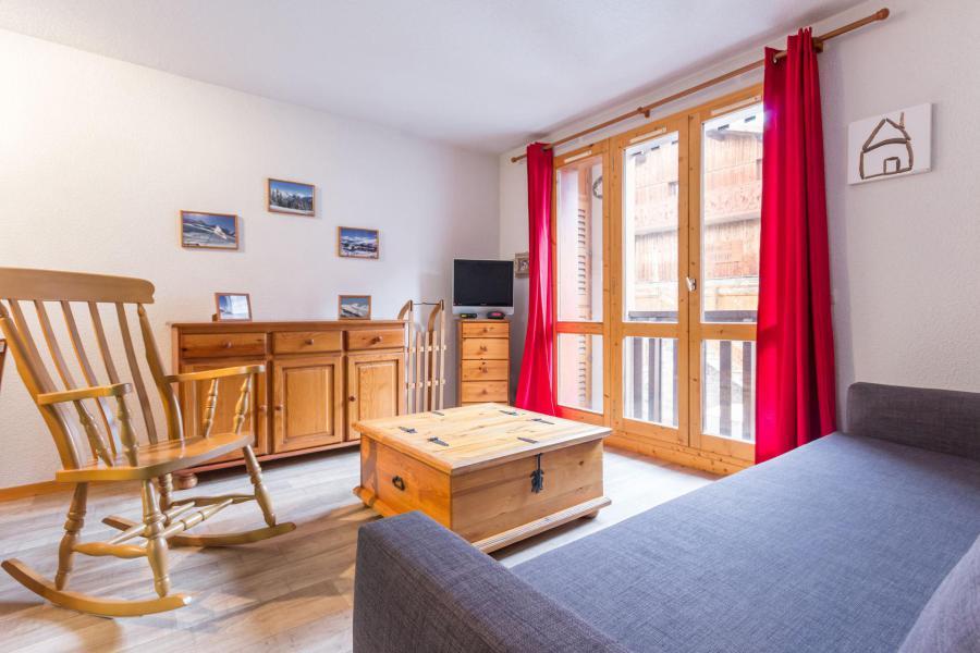 Wakacje w górach Apartament 2 pokojowy 6 osób (104) - Résidence le Tétras Lyre - Montchavin La Plagne - Pokój gościnny