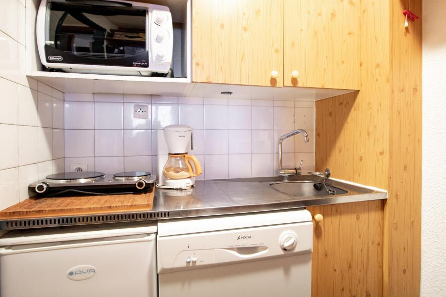 Vacances en montagne Studio cabine 4 personnes (202) - Résidence le Thabor E - Valfréjus - Logement