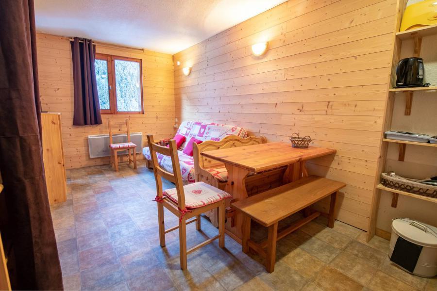 Vacances en montagne Studio cabine 4 personnes (217) - Résidence le Thabor E - Valfréjus - Logement