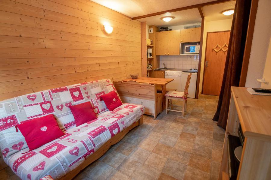 Vacances en montagne Studio cabine 4 personnes (217) - Résidence le Thabor E - Valfréjus - Séjour