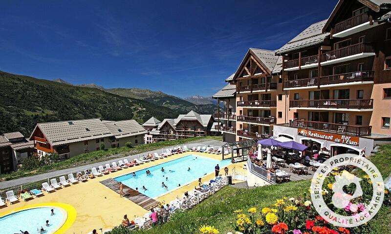 Vacances en montagne Résidence le Thabor - Maeva Home - Valmeinier - Extérieur été
