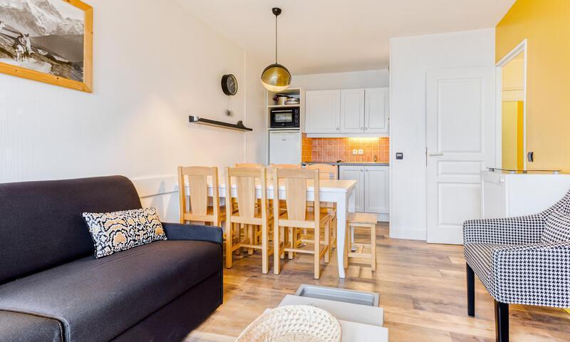 Vacances en montagne Appartement 3 pièces 6 personnes (Prestige 35m²) - Résidence le Thabor - Maeva Home - Valmeinier - Séjour