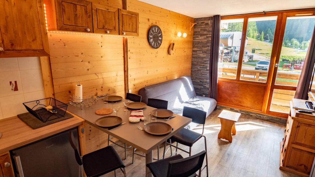 Wakacje w górach Studio kabina 5 osób (A-6) - Résidence le Thabor - Valfréjus - Stołem