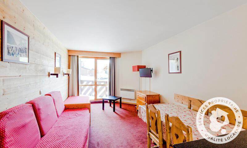 Skiverleih 3-Zimmer-Appartment für 6 Personen (Budget 45m²) - Résidence le Tikal - Maeva Home - Val Thorens - Wohnzimmer