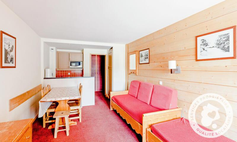Skiverleih 3-Zimmer-Appartment für 6 Personen (Budget 45m²) - Résidence le Tikal - Maeva Home - Val Thorens - Draußen im Sommer