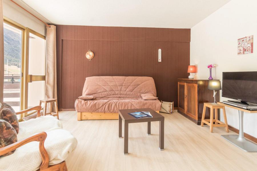 Holiday in mountain resort Studio sleeping corner 5 people (DEMER) - Résidence le Transalpin - Montgenèvre