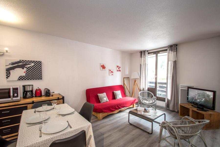 Vacances en montagne Appartement 2 pièces cabine 2-4 personnes - Résidence le Triolet - Chamonix - Coin repas
